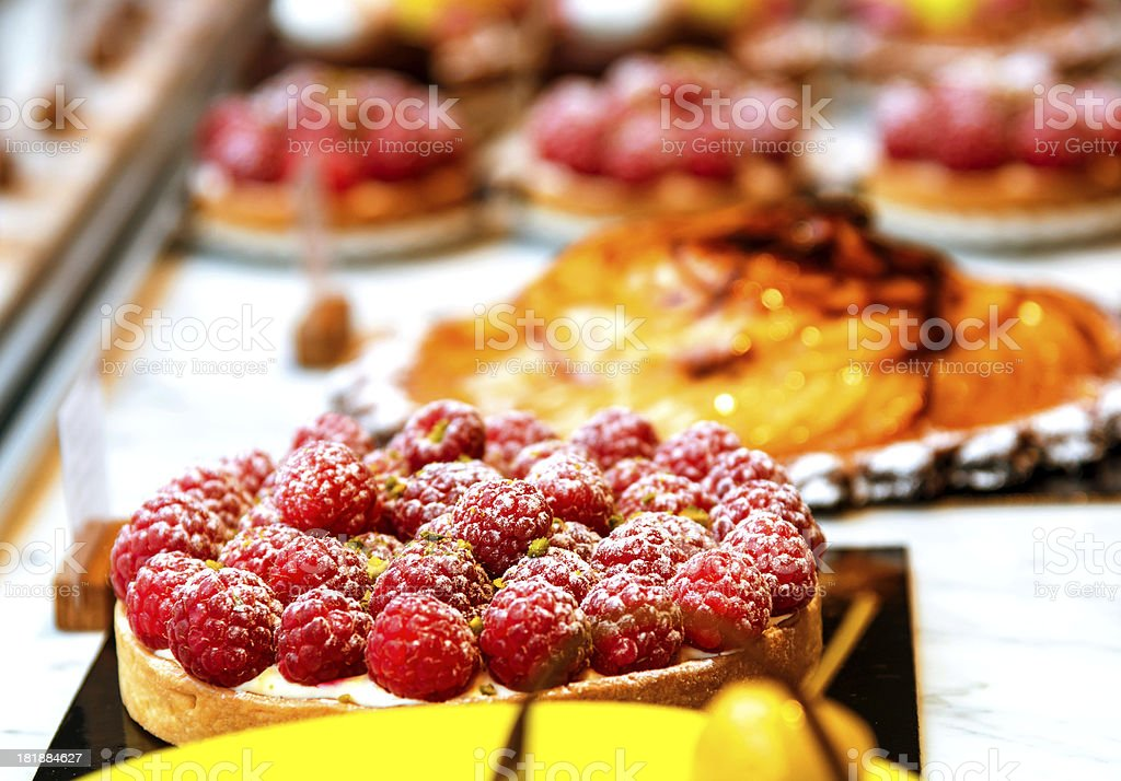 french pastries royalty-free stock photo