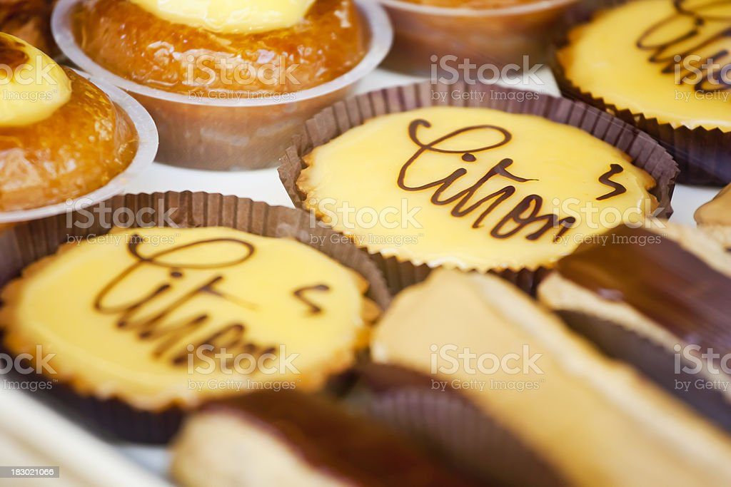 French Patisserie royalty-free stock photo