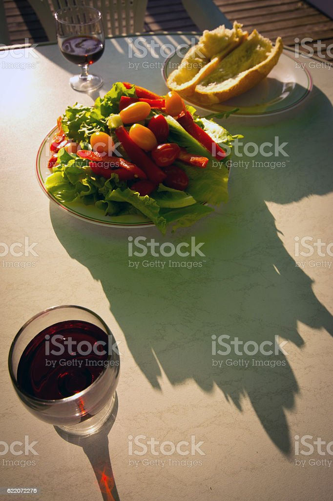 French picnic stock photo