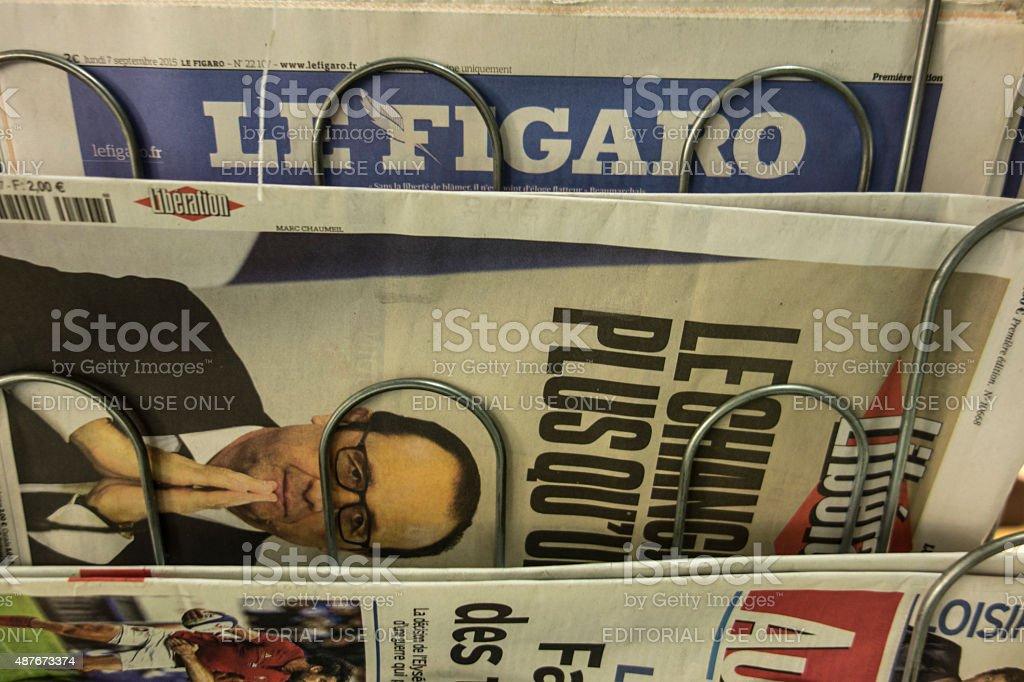 French press stock photo