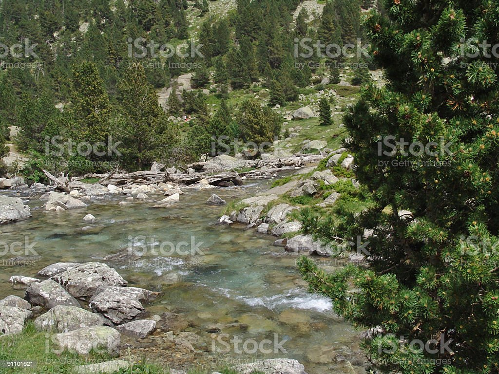 French Pyrenees royalty-free stock photo