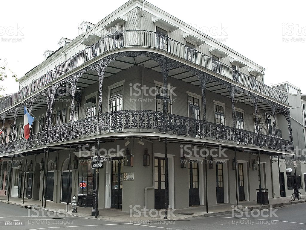French Quarter Corner royalty-free stock photo
