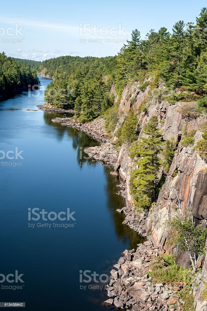 French River, Canada stock photo