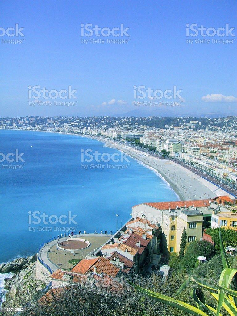French Riviera, Nice. royalty-free stock photo