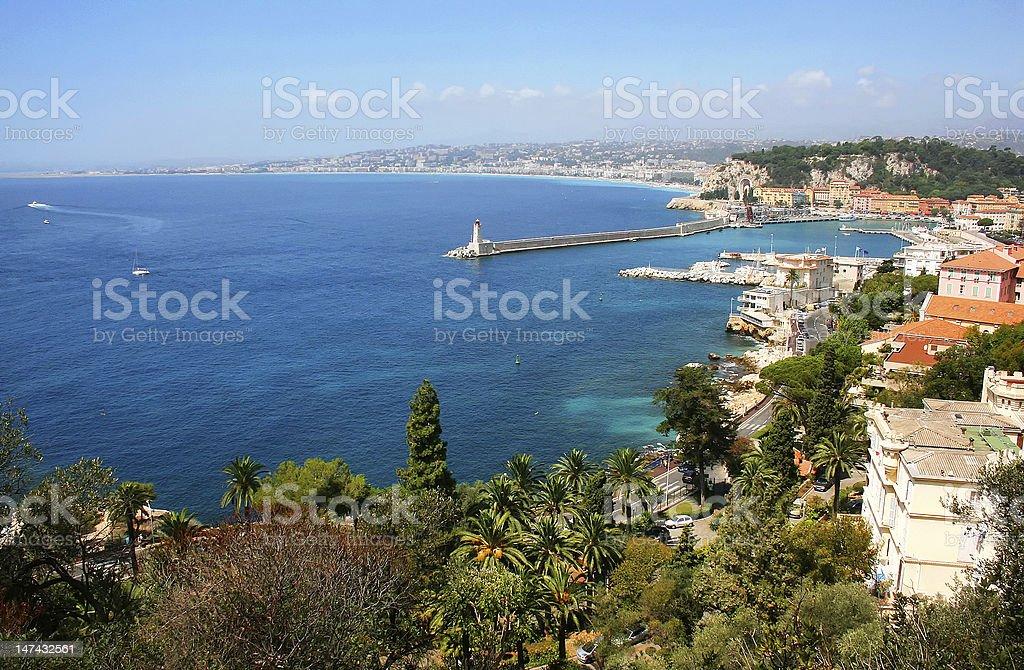 Cote d'Azur stock photo