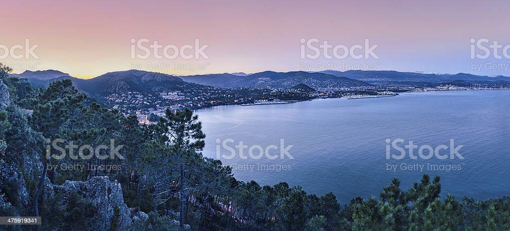 French riviera stock photo
