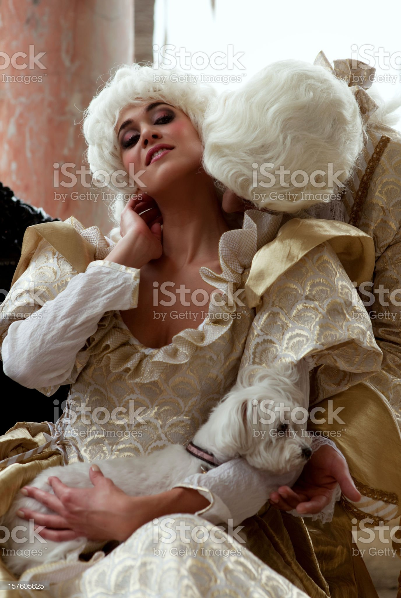 French royals royalty-free stock photo