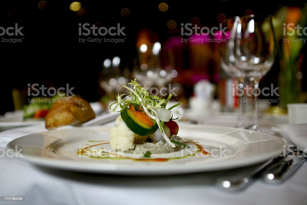 French salade stock photo