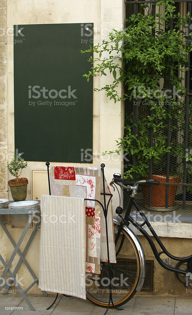 French Scene royalty-free stock photo