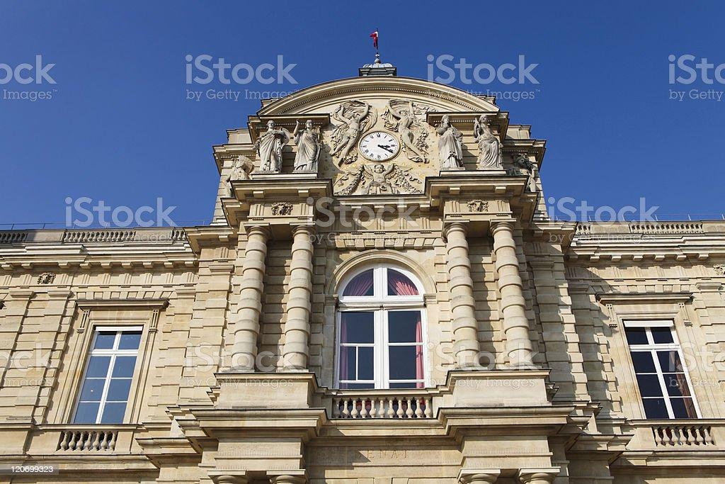 French Senate in Paris stock photo