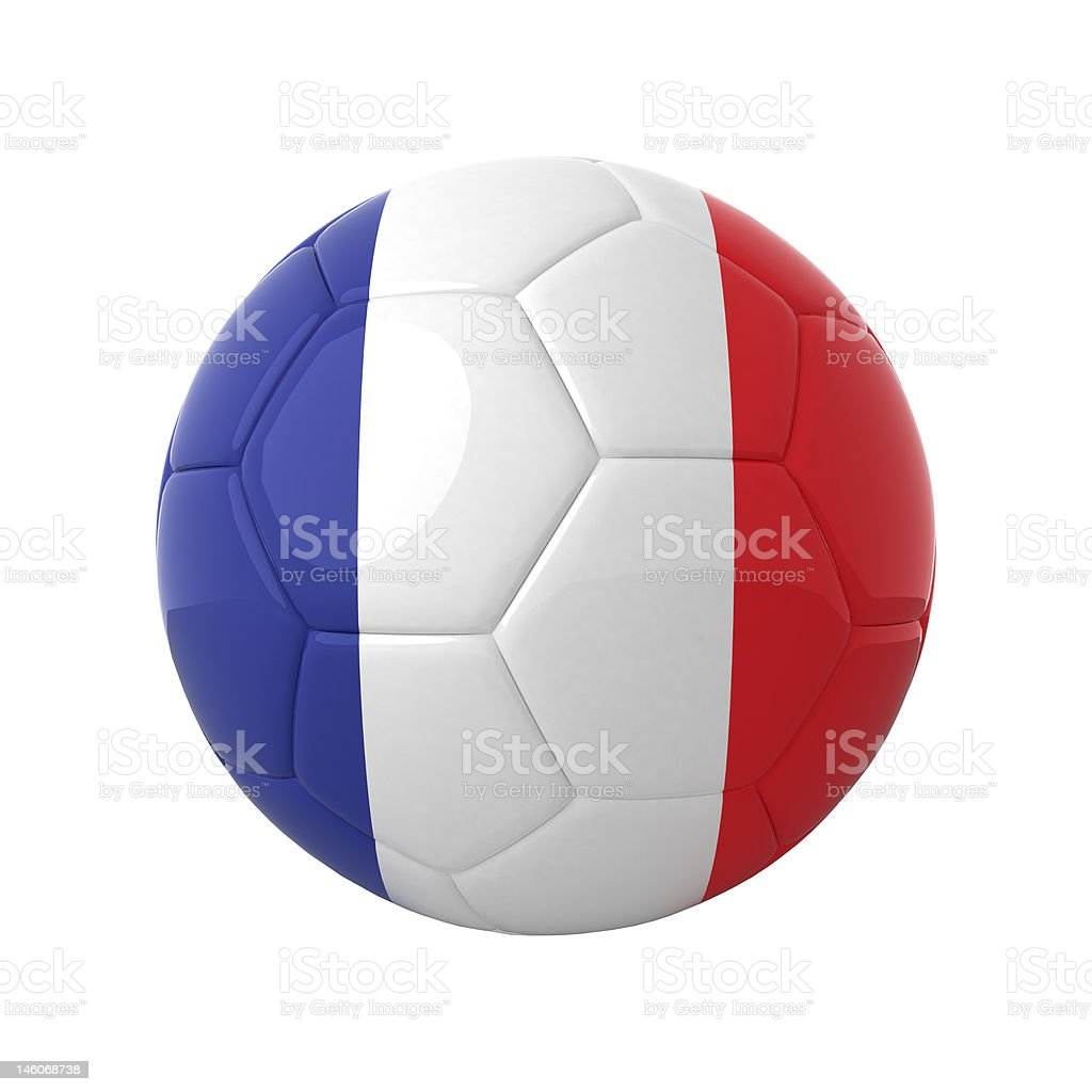 French soccer. royalty-free stock photo