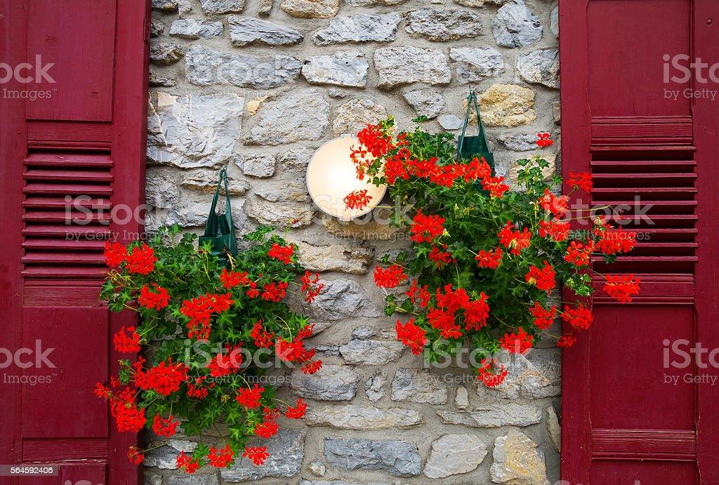 French style decoration. stock photo
