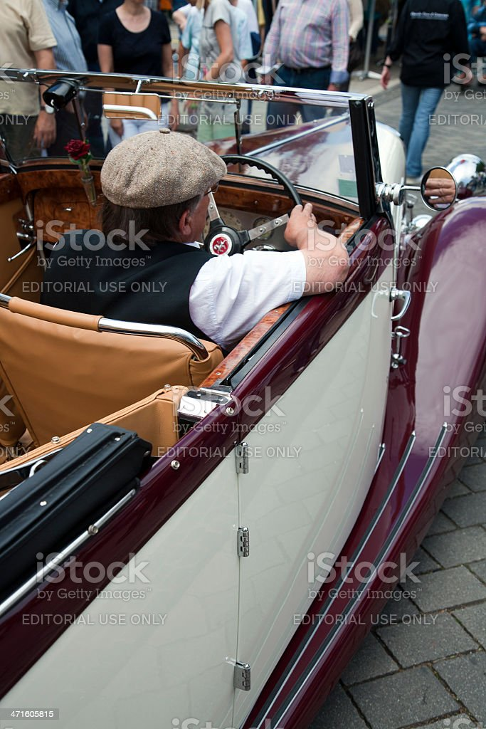 French La Licorne oldtimer royalty-free stock photo