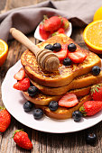 french toast and berry