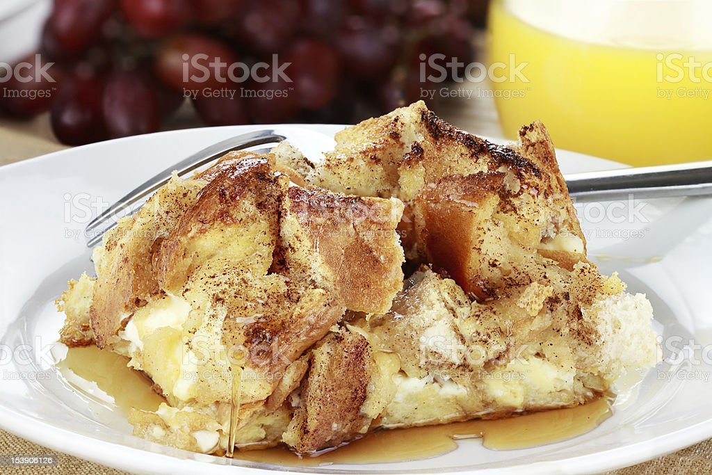 French Toast Casserole stock photo