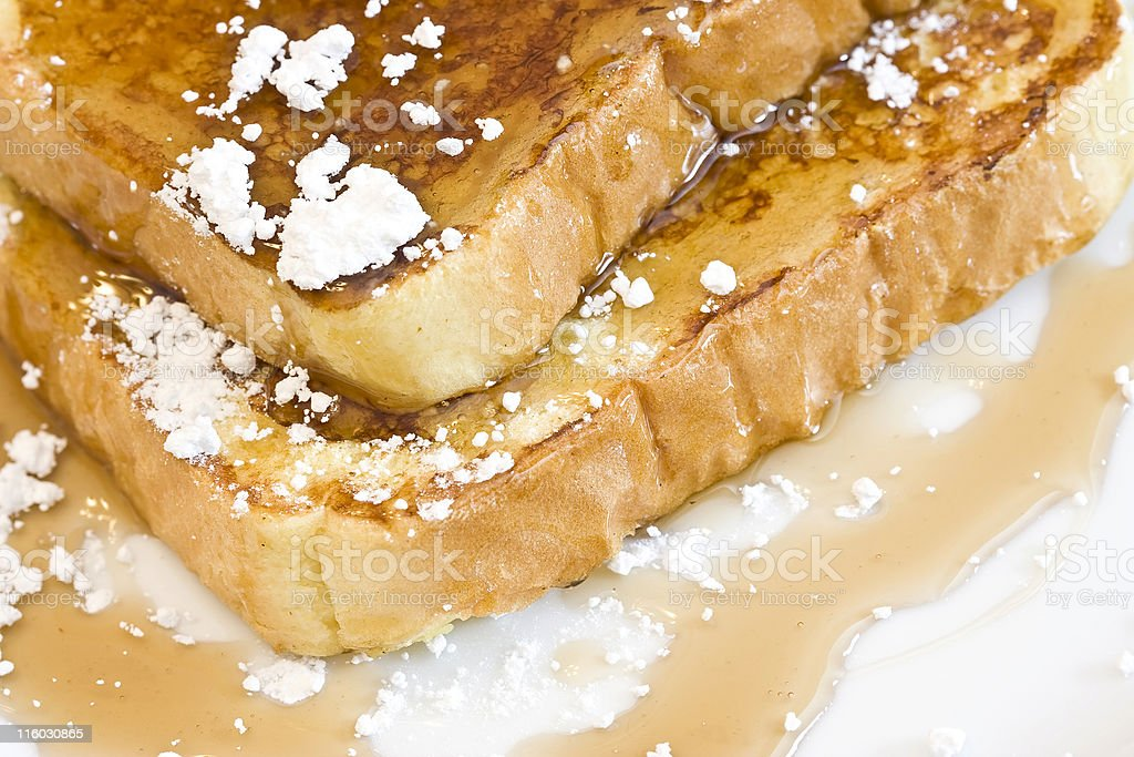 french toast royalty-free stock photo