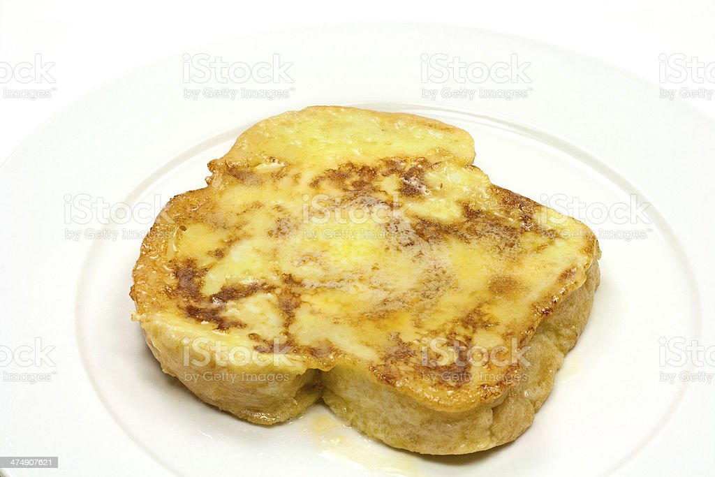French Toasted Loaded With Butter stock photo