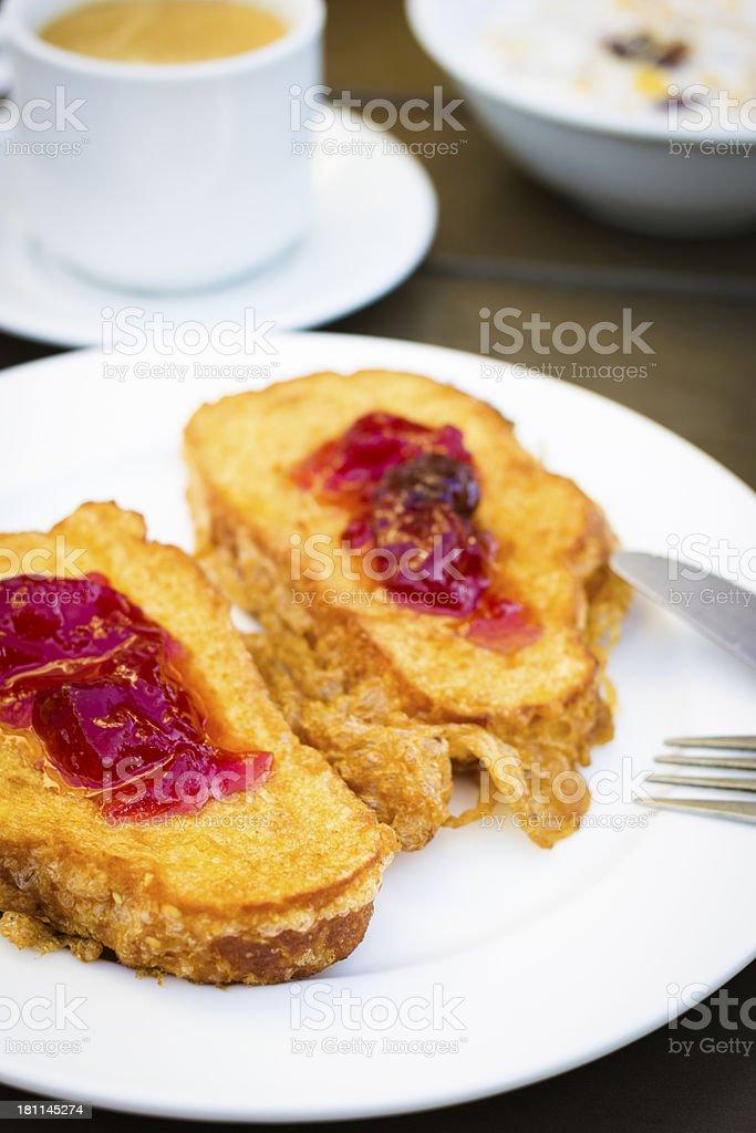 french toastes royalty-free stock photo