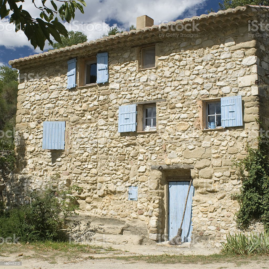 French Village. Provence. France royalty-free stock photo