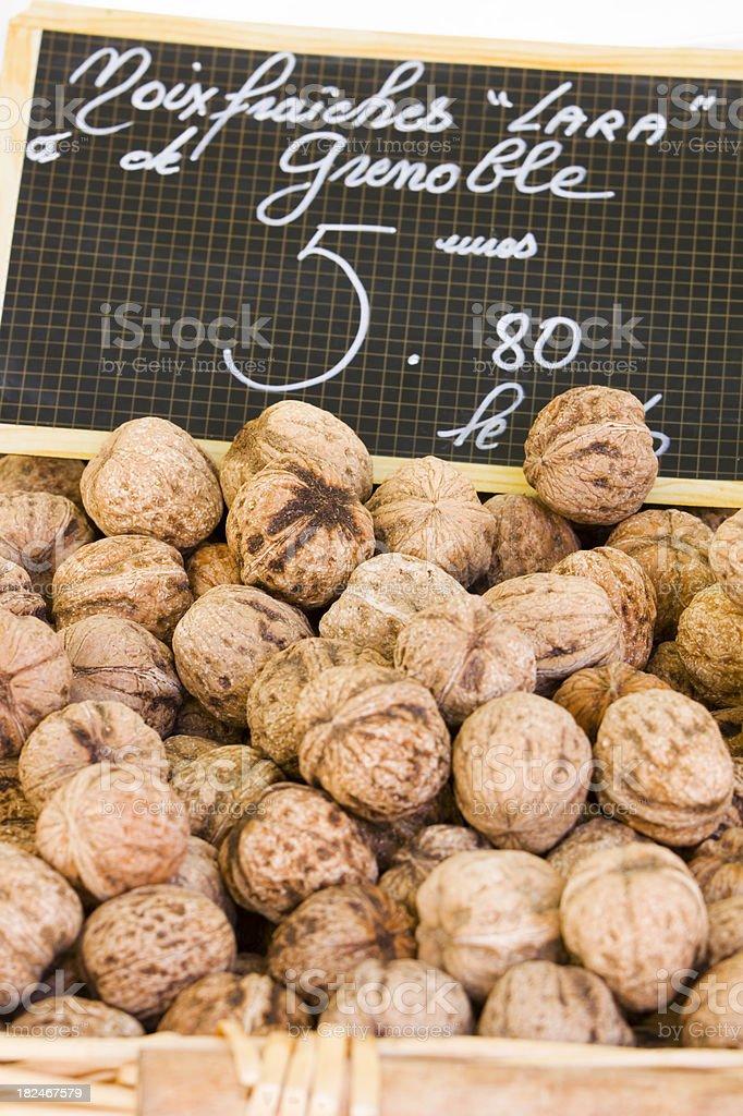 French Walnuts stock photo