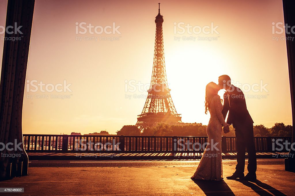 French wedding stock photo