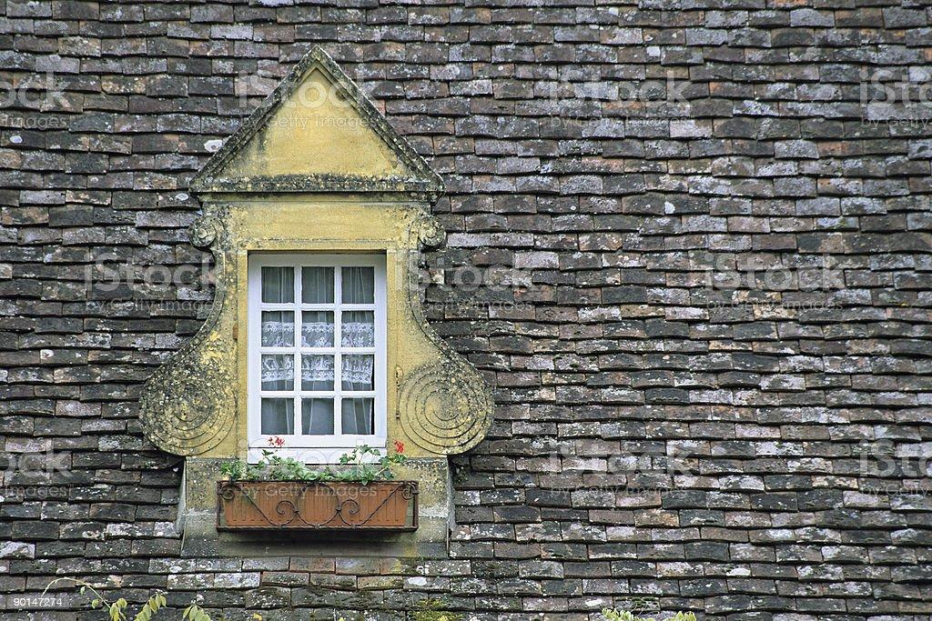 French window stock photo