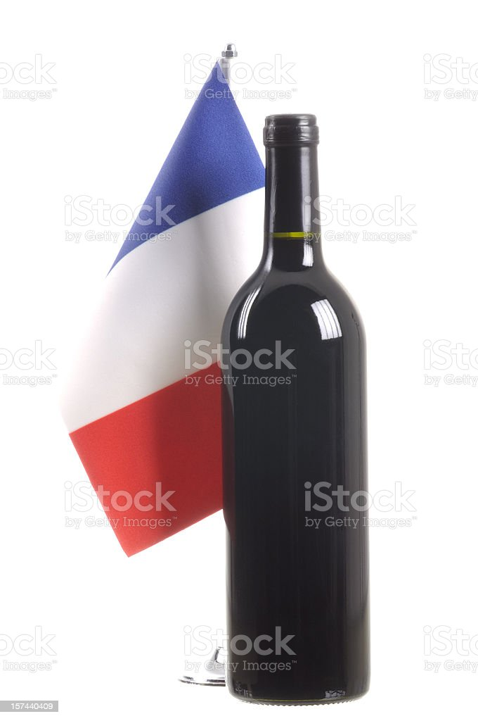 French Wine royalty-free stock photo