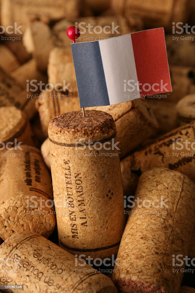 French wines royalty-free stock photo