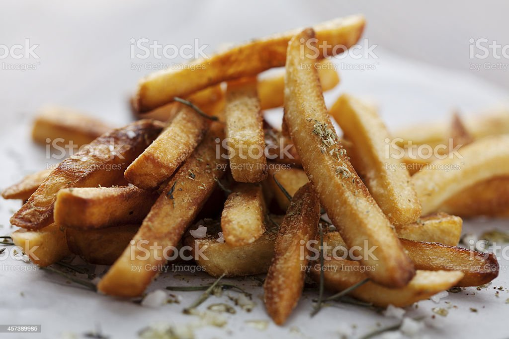 frensh fries stock photo