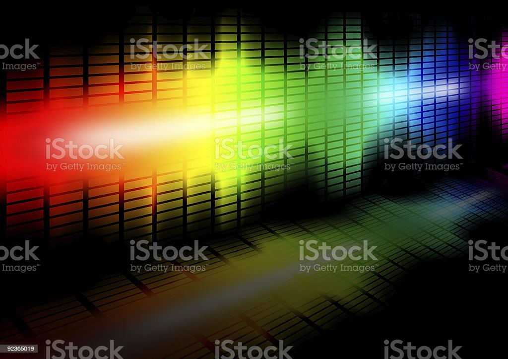 Frequency equalizer royalty-free stock photo