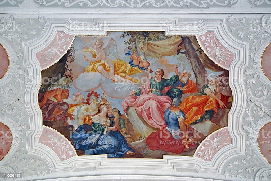 Fresco Maria royalty-free stock photo