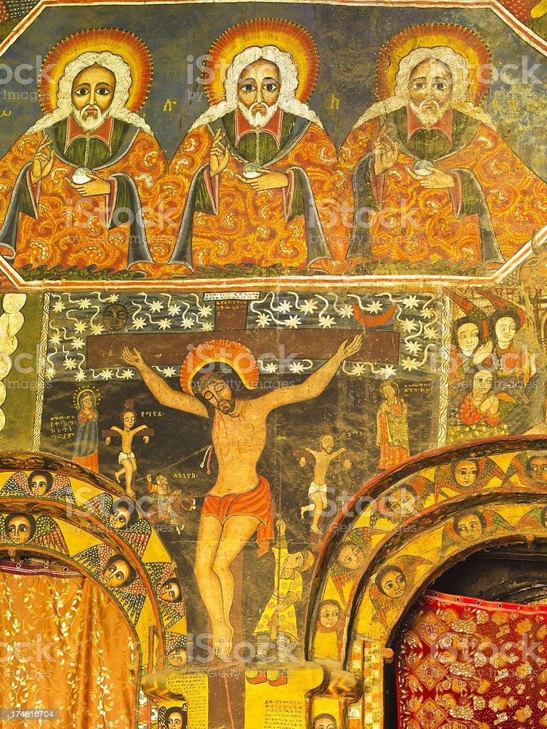 fresco stock photo