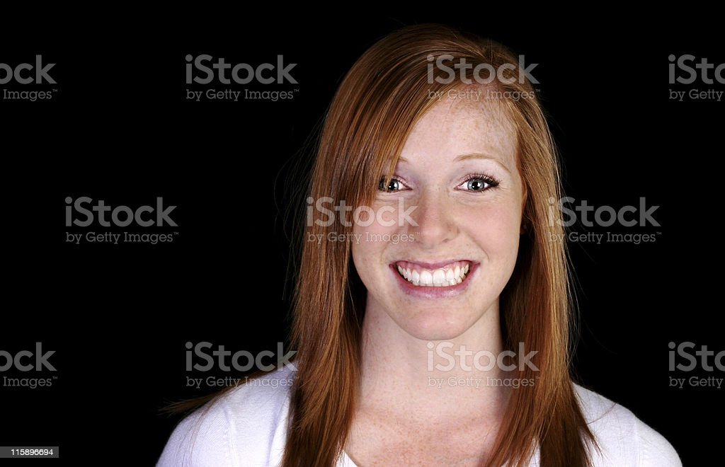 fresh and clean portraits royalty-free stock photo