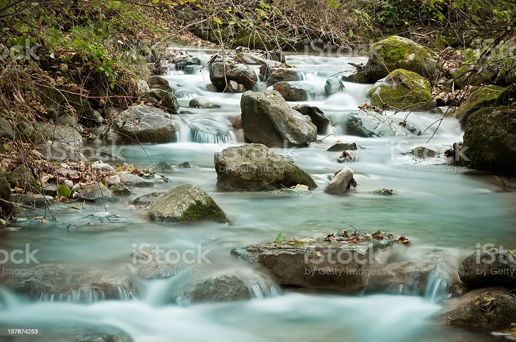 fresh and clean river royalty-free stock photo