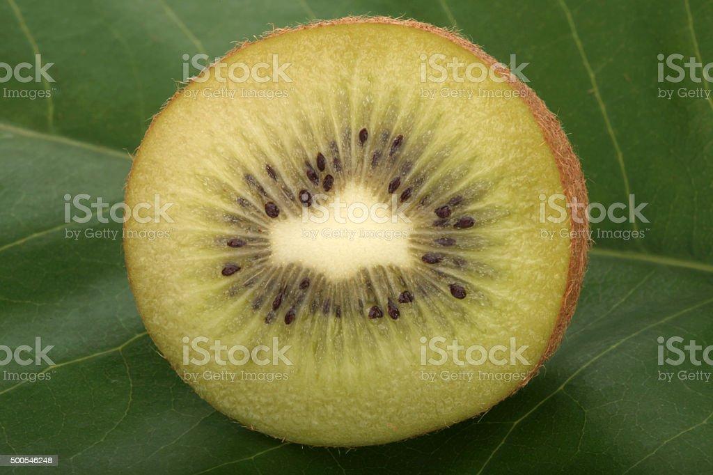 Fresh and fruity Kiwis stock photo