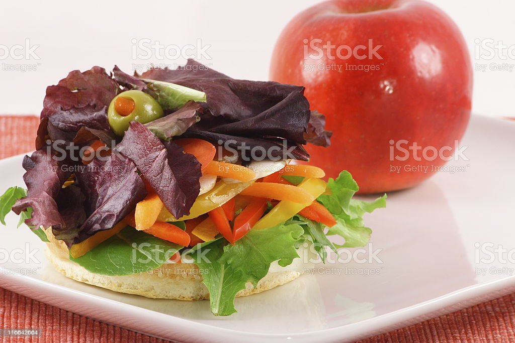 fresh and healthy nice meal royalty-free stock photo