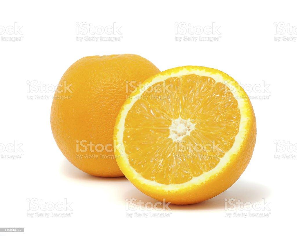 Fresh And Juicy Oranges royalty-free stock photo
