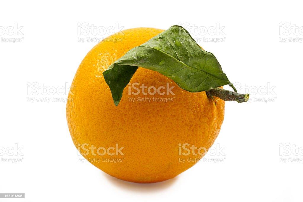 Fresh and juicy Sicilian blood orange royalty-free stock photo