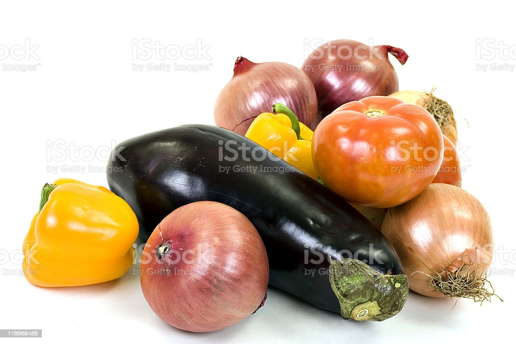 Fresh and ripe vegetables royalty-free stock photo