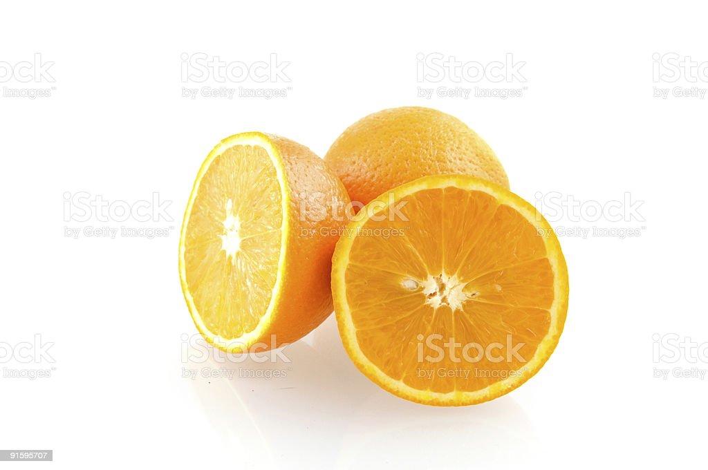 orange frais et savoureux photo libre de droits