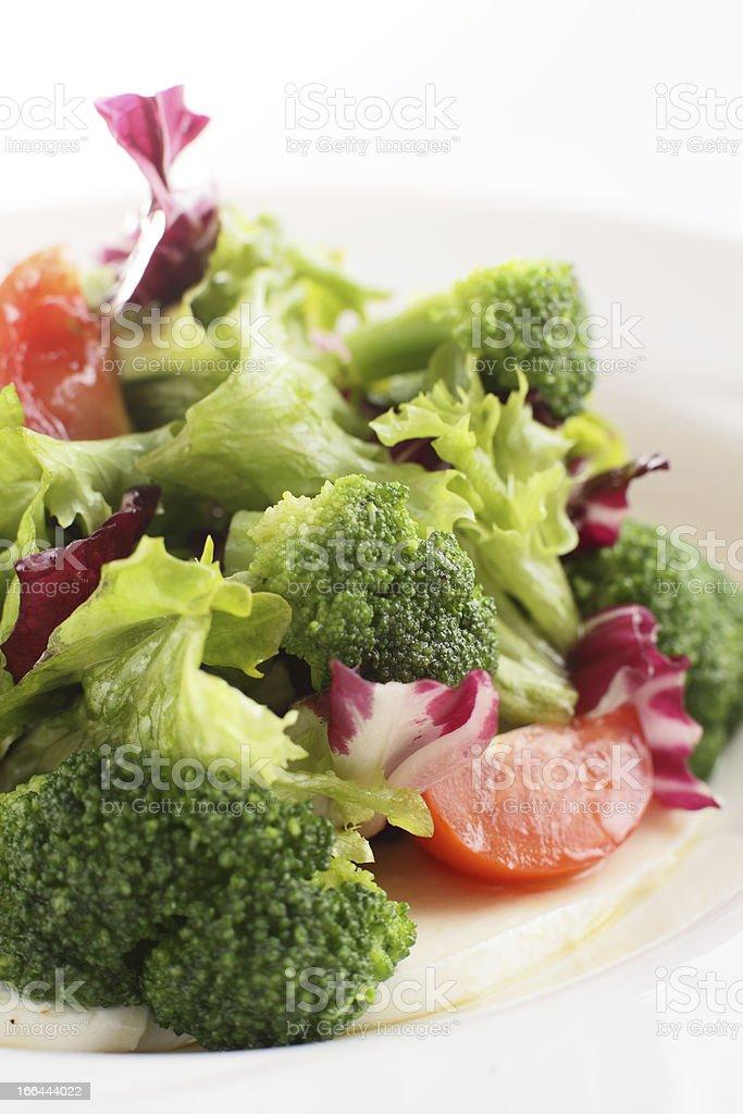 fresh and tasty salad royalty-free stock photo