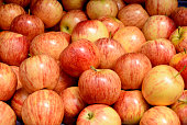 Fresh apple in city market of Birmingham