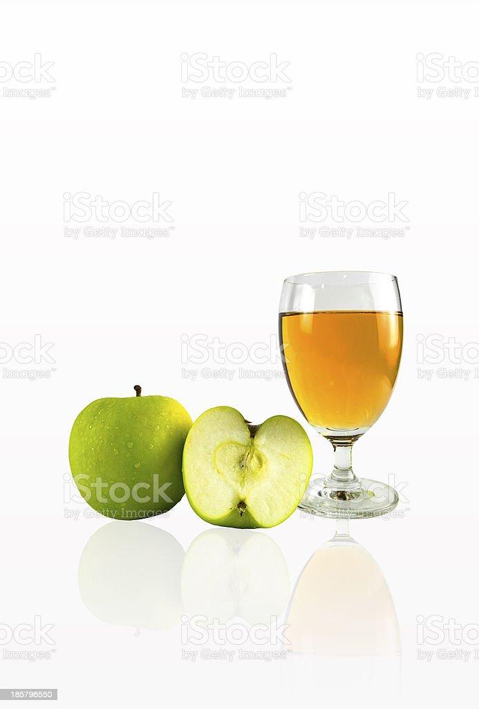 Fresh Apple Juice royalty-free stock photo
