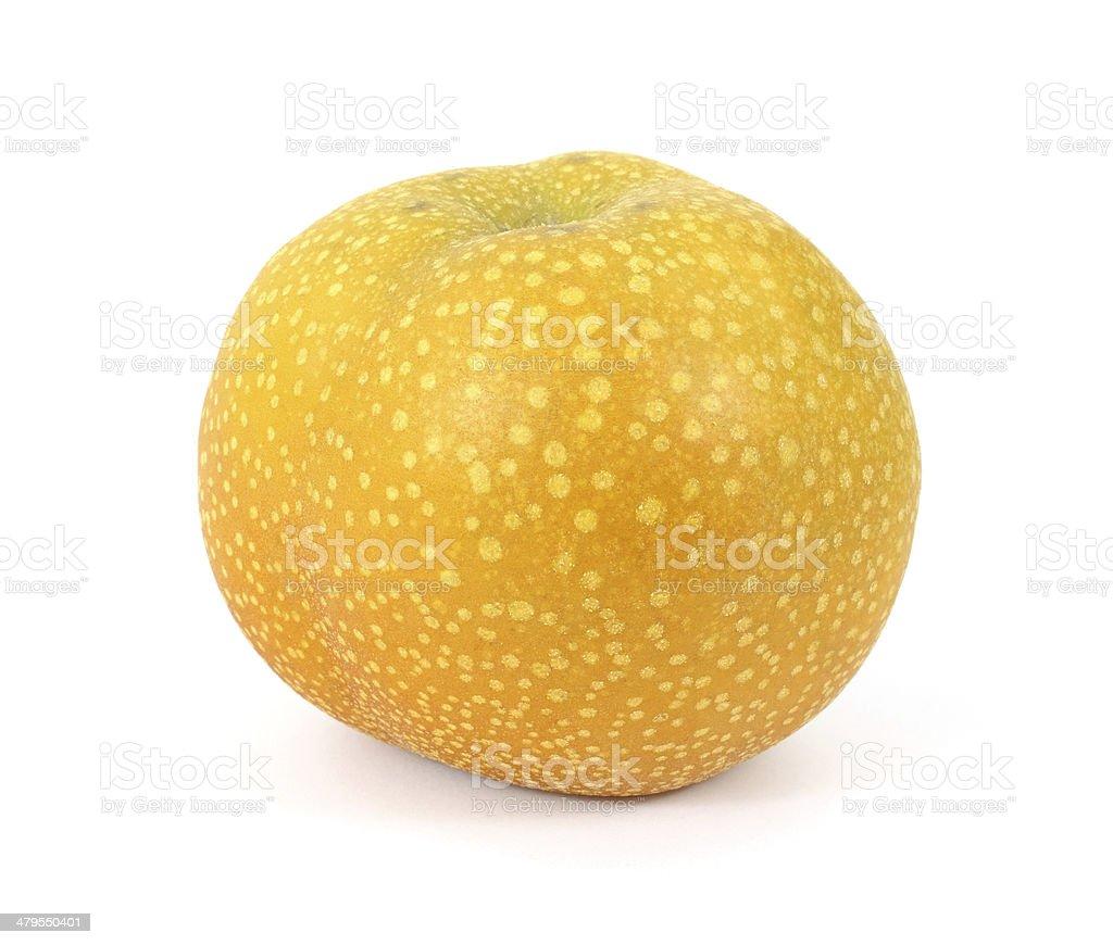 Fresh apple pear stock photo