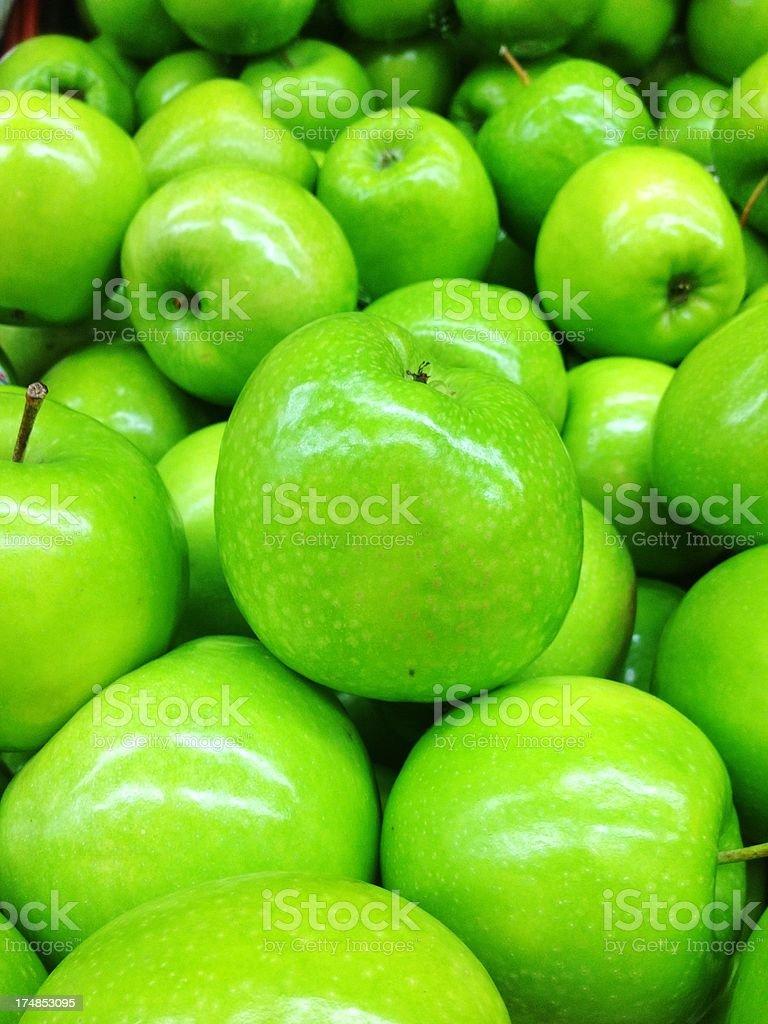 Fresh apple royalty-free stock photo