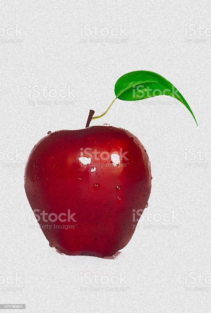 Fresh Apple royalty-free stock photo
