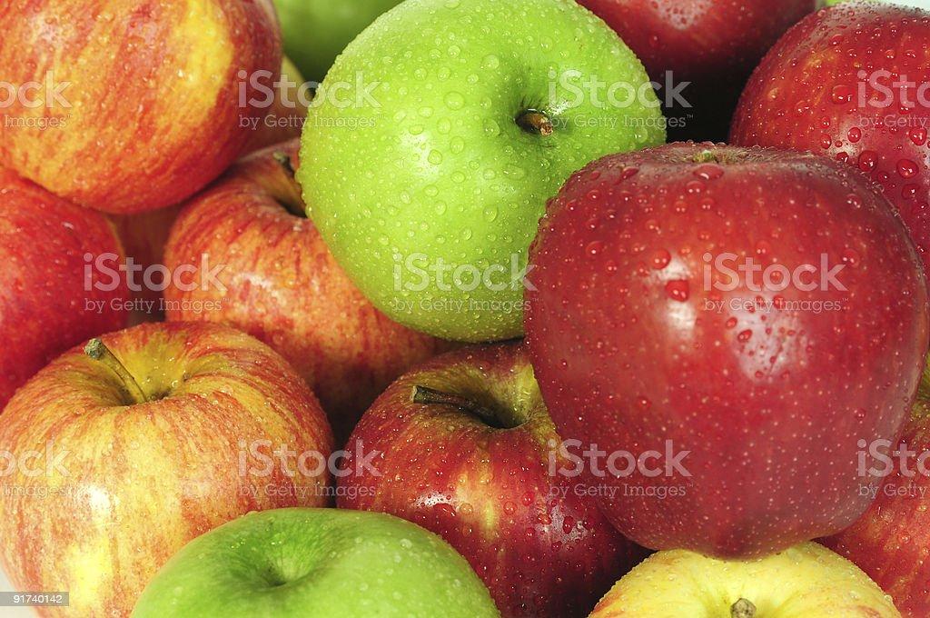 Fresh apple. stock photo
