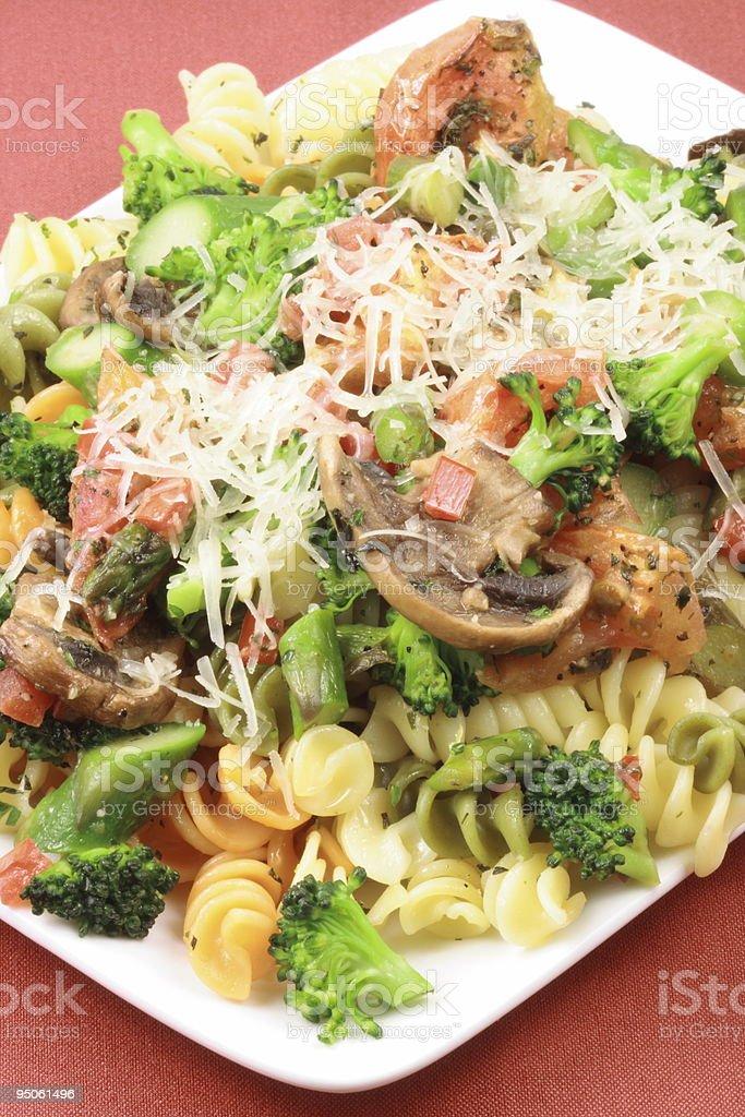 fresh aromatic italian pasta stock photo