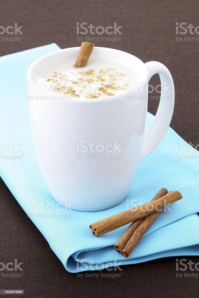 fresh avena or oatmeal drink royalty-free stock photo
