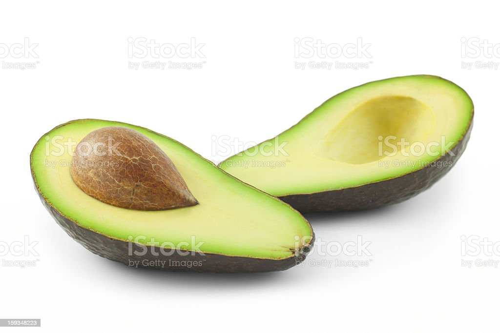 Fresh avocado royalty-free stock photo